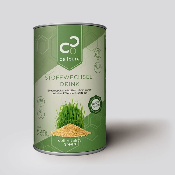 cell vitality green 600g